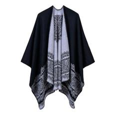 largeshawlscarf, ponchocloakcoat, warmshawlsforwomen, Fashion