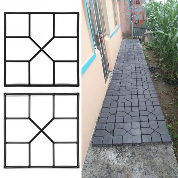 Garden, pathpaver, concretemould, pavementpaver