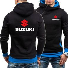 motorcyclejacket, Fleece, suzukihoodie, Winter