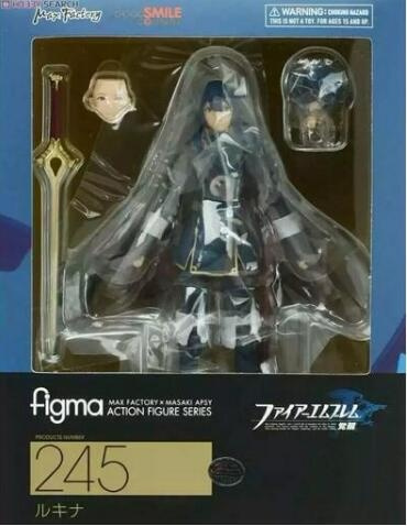 Anime Fire Emblem Awakening Lucina Figma 245 PVC Action Figure Toy New In Box