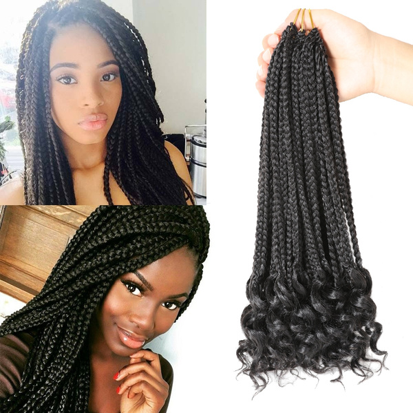Extensions for box braids