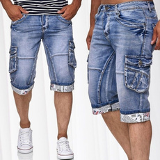 men jeans, Shorts, Summer, Vintage