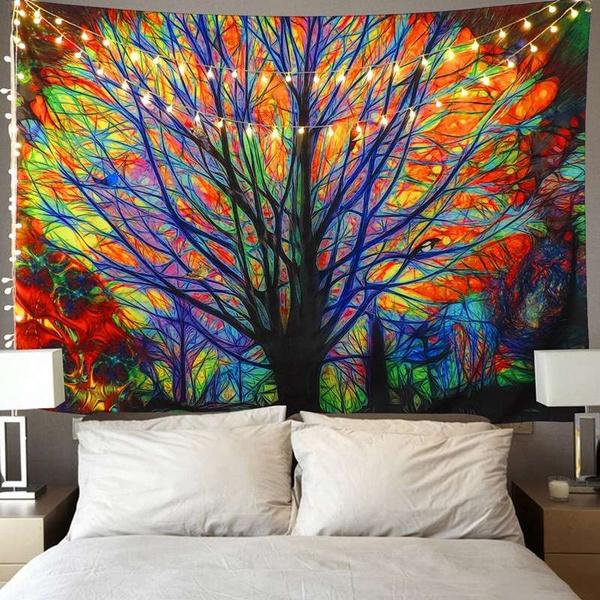 Tree, treetapestry, Fashion, hippie