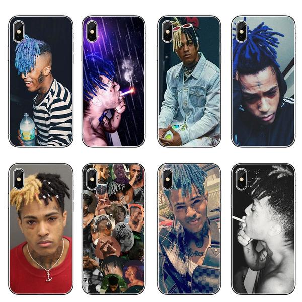 promo code bb49a e83ef Hip-Hop RAP Rapper Xxxtentacion IPhone Case Concha Coque Iphone Covers for  Iphone X Iphone 7 Plus Iphone 8 Plus Iphone 6s Iphone 5s