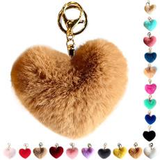 cute, keyholder, Moda, fur