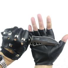 bikerglove, fingerlessglove, Cycling, leather