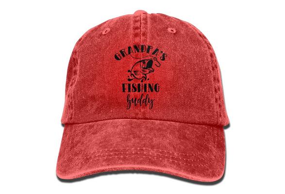 Grandpas Fishing Buddy Beanies Hats Skull Caps Men