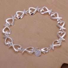 Sterling, Punk Bracelet, Moda, sterling silver