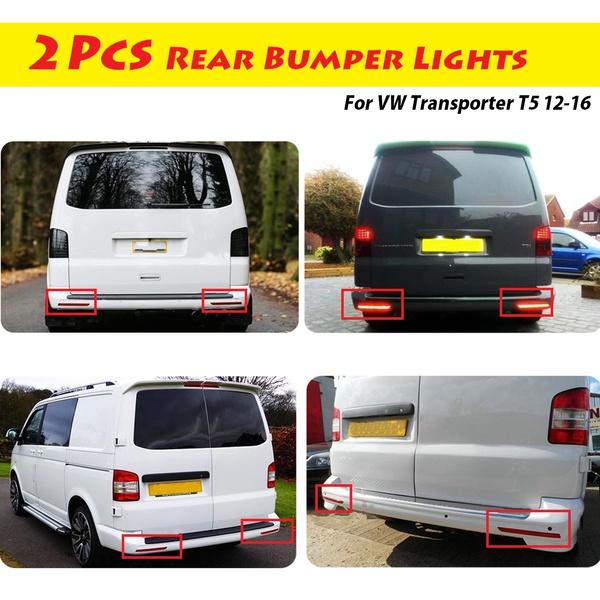VW TRANSPORTER T5 Rear Bumper reflector right Side 7E0945106