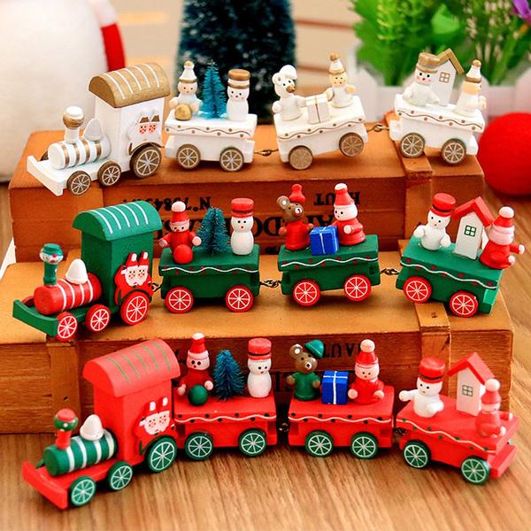 giftsforkid, Decor, woodentrain, christmasdecorationstree
