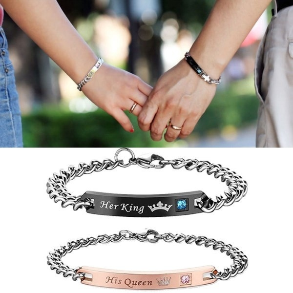 Steel, Crystal Bracelet, lover gifts, loverbracelet