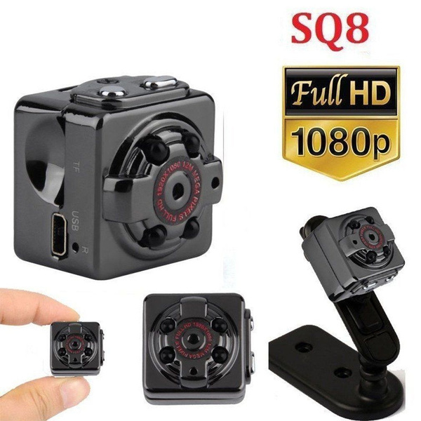 SQ8 Full HD 1080P Mini Car DV DVR Camera Hidden Camcorder IR Night Vision