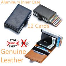 Credit Card Holder, genuine leather, menpurse, rfid
