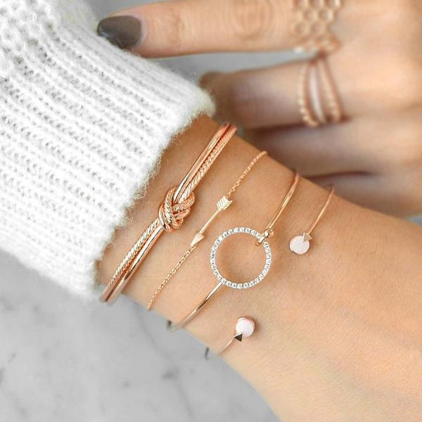 Arrow, Jewelry, arrowbracelet, Gold Bangle