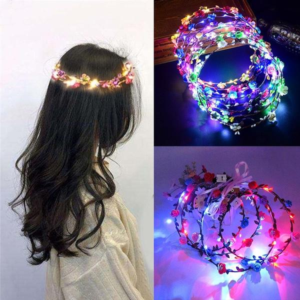 wreathdecoration, led, headwear, glowingwreath