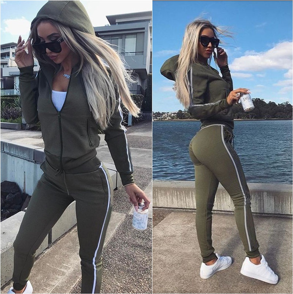 Two-Piece Suits, pants, Fashion Hoodies, Tops