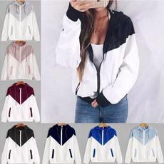 Fashion, Zip, Coat, Tops