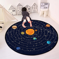 playingmat, Space, universe, area rug