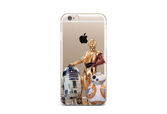 Star Wars R2D2 Ultrathin Shockproof Clear Soft TPU Phone Case Cover for  IPhone 4 4S 5 5C 5S 6 6S 6Plus 6SPlus 7 7Plus 8 8Plus X SE for Samsung  Galaxy