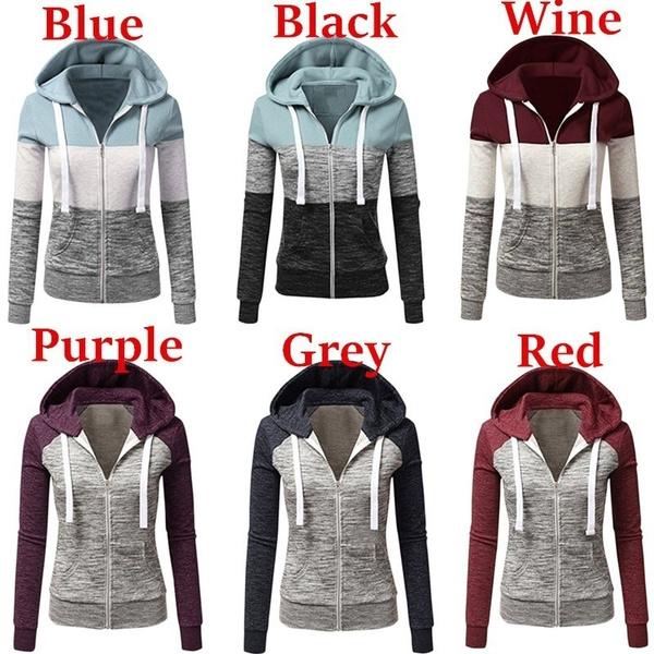 Plus Size, pullover hoodie, Sleeve, Long Sleeve