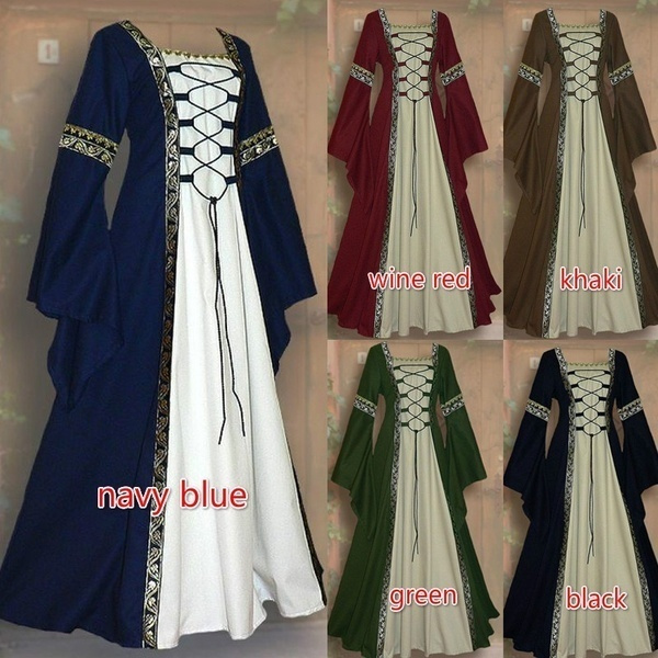 Cosplay, Medieval, long dress, Halloween Costume