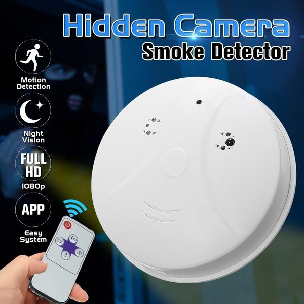 Hidden Smoke Detector Camera Motion Detection Activated Digital Video  Recorder Mini DV Camcorder