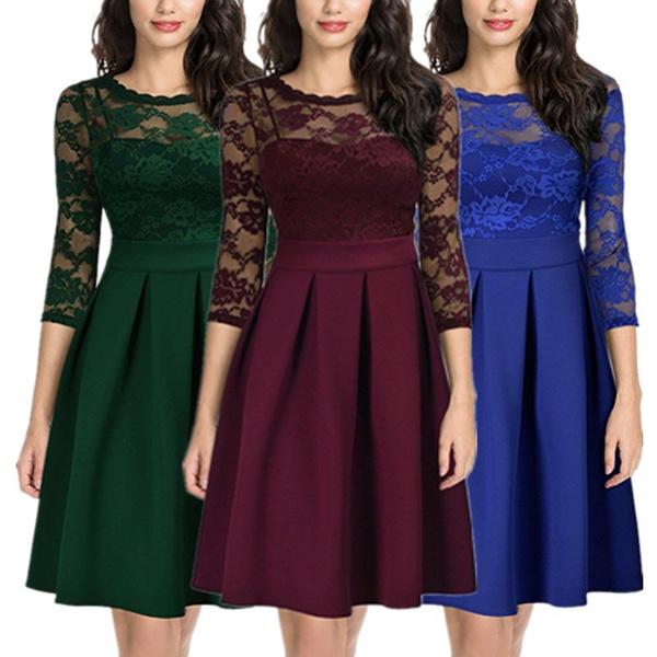slim dress, Ladies Fashion, Sleeve, Vintage