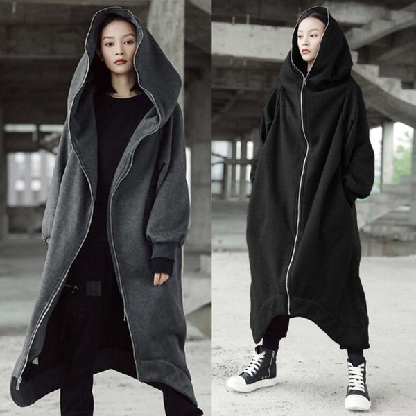 Plus Size, Winter, Sleeve, Long Coat