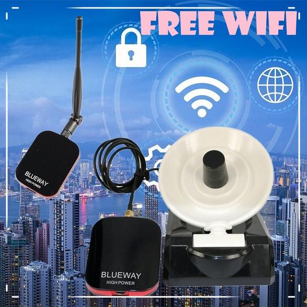 Password Cracking Beini Internet Long Range 3000m Dual Wifi Antenna USB  Wifi Adapter Decoder Ralink 3070 Blueway BT-N9800 BTG