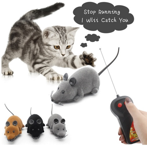 Toys For Cats Mouse Toys Wireless Rc Mice Cat Toys Remote Control False Mouse Novelty Rc Cat Funny Playing Mouse by Wish