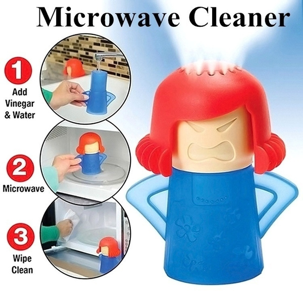 Cleaner, vinegar, angry, microwave