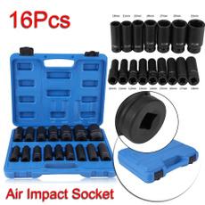 Sockets, Tool, Screwdriver, Drill Bits