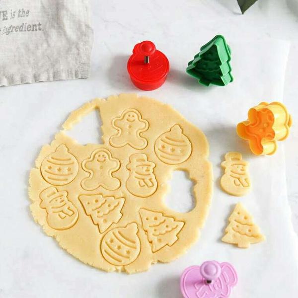 cute, biscuitcutter, Silicone, cookieplungercutter