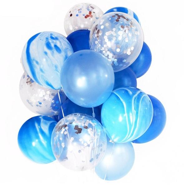 "20PCS Colorful Confetti Balloon Birthday Wedding Party Helium Balloons NEW 12/"""