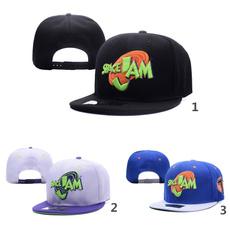 Movie Space Jam Baseball Cap Fashion Curved Chapeau Dad Hats Hip Hop Men Women