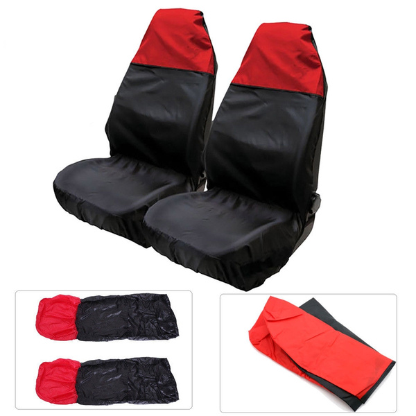 Universal Heavy Duty Car//Van Front Waterproof Seat Covers//Protectors Durable NEW