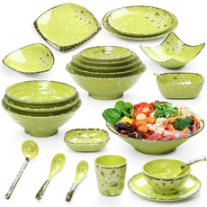 Plates, melamine, roundcreative, Tableware