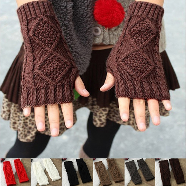 fingerlessglove, cute, warmglove, knittedglove