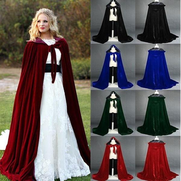 gowns, hoodedrobecloak, hooded, velvet