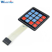 14 4 Key Matrix Membrane Switch Keypad Keyboard Control Panel SCM Extended Keyboard Super Slim