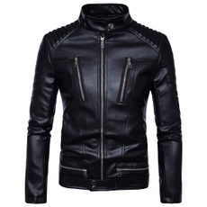 winter fashion, motorcyclejacket, personalityjacket, Winter