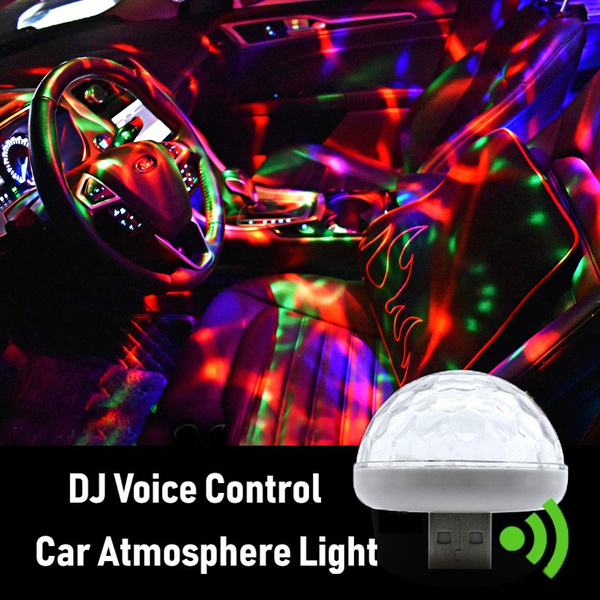 New Hot Multi Color Usb Led Car Interior Lighting Kit Atmosphere Light Neon Lamps