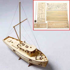 Educational, assembly, diysailingboat, Wooden