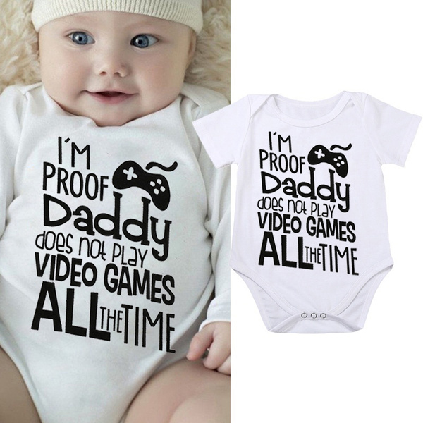Newborn Infant Baby Boys Girls Jumpsuit Romper Bodysuit Playsuit Outfits Clothes