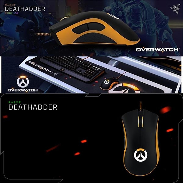 Overwatch Deathadder Chroma Wired USB Gaming Mouse