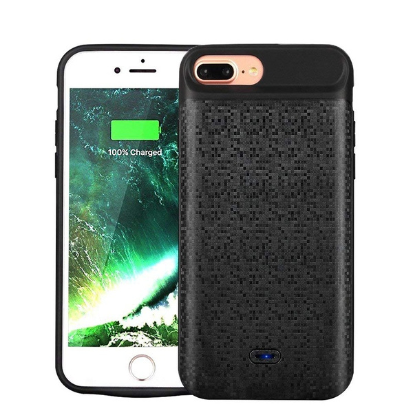 buy online a25ca 2a6c8 Slim Portable Charger Case / Battery Case Protective Charging Case for i8 /  i7 / i6 / i8 plus / i7 plus / i6 plus /