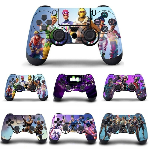 Fortnite Sticker For Ps4 Slim Sony Playstation 4 Console And Dualshock 4 Controller Skin 12 Styles