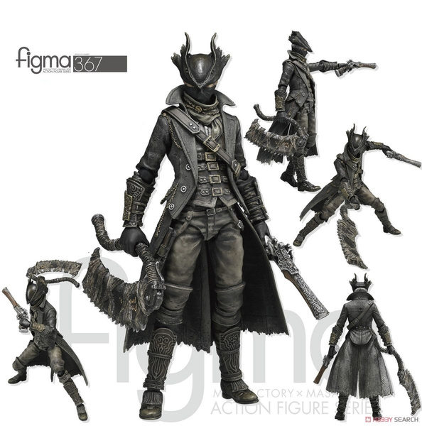 Figma 367 Bloodborne Hunter PVC Action Figure Toy New In Box 15cm