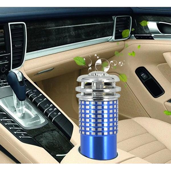 12V Mini Car Fresh Air Anion Ionic Purifier Oxygen Bar Ozone Ionizer Cleaner New