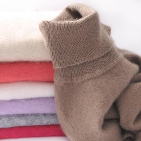 women pullover, highnecktop, Plus Size, Knitting